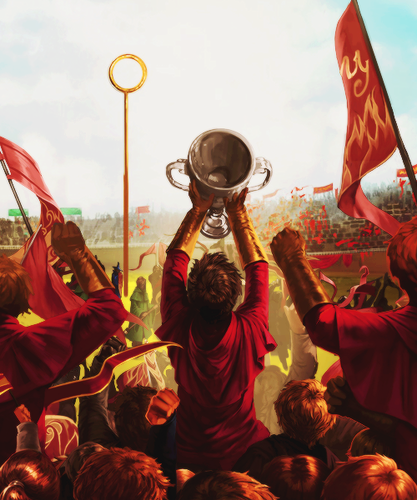 harry potter wallpaper entitled Quidditch