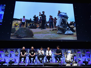 R2D2 Clip at The तारा, स्टार Wars Celebration