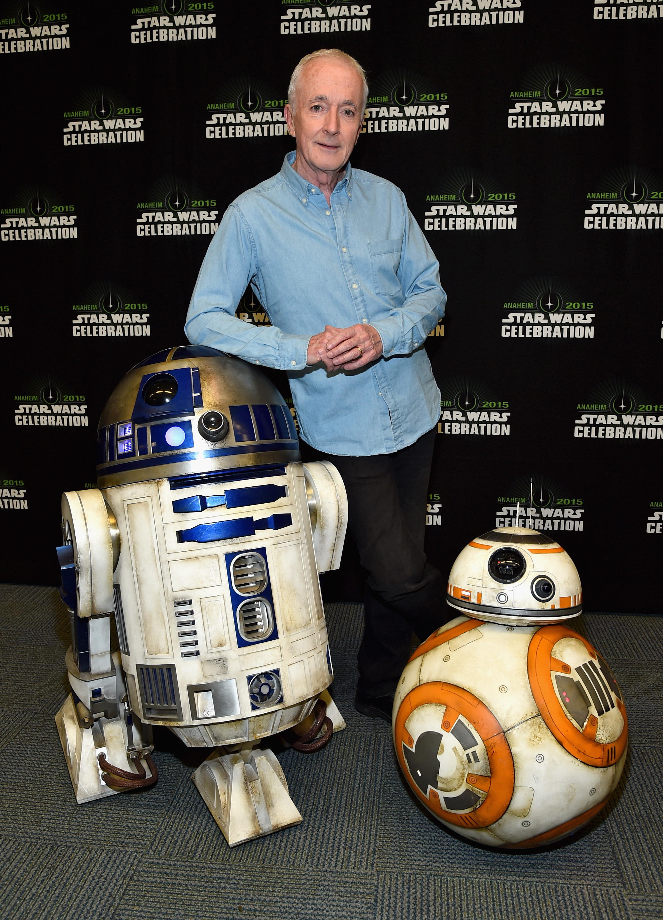 R2D2 and BB-8 at The Star Wars Celebration