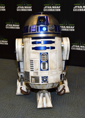 R2D2 at The bintang Wars Celebration