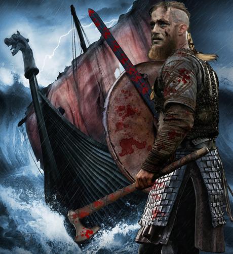 バイキングス(TVドラマ) 壁紙 entitled Ragnar