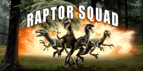 Jurassic World achtergrond containing anime titled Raptor Squad