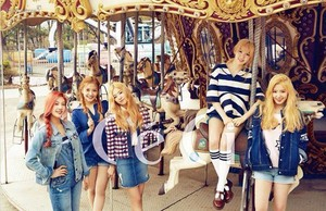 Red Velvet for CeCi Korea Magazine May Issue
