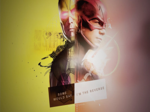 The Flash (CW) wallpaper entitled Reverse Flash vs. Flash
