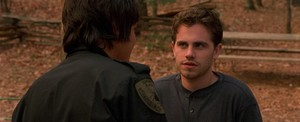 Rider Strong in kabin Fever