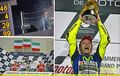 Rossi wins QATAR MOTO GP, 2015