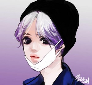 SILVER PURPLE HAIR TAEMIN 이태민 2015