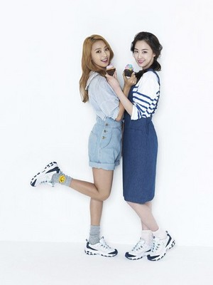 SISTAR in 'Skechers' for spring