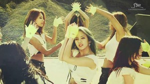 SNSD Catch Me If آپ Can Screencap
