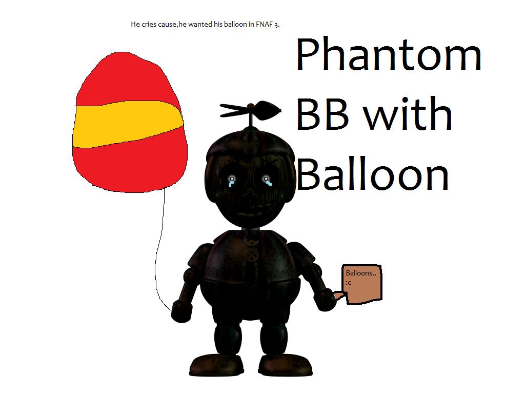 Sad Phantom Balloon Boy