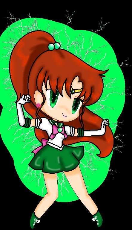 Sailor Jupiter chibi
