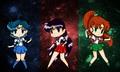 Sailor Scouts Wallpaper - sailor-moon photo