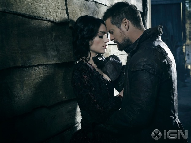 Salem Mary Sibley and John Alden Season 2 Official Picture