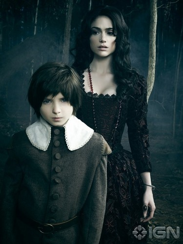 Salem TV Series wallpaper probably containing a well dressed person called Salem Mary Sibley and her son Season 2 Official Picture