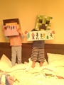 Samuel and cây ô rô, hoa huệ, holly drew a picture for stampylongnose