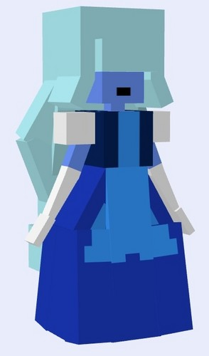 steven universe wallpaper called Sapphire - minecraft