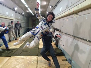 Sarah's 太空 Journey