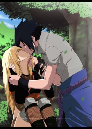 Naruto achtergrond titled Sasuke x Naruto