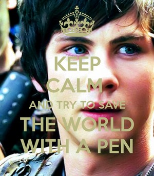 Save the world with a pen