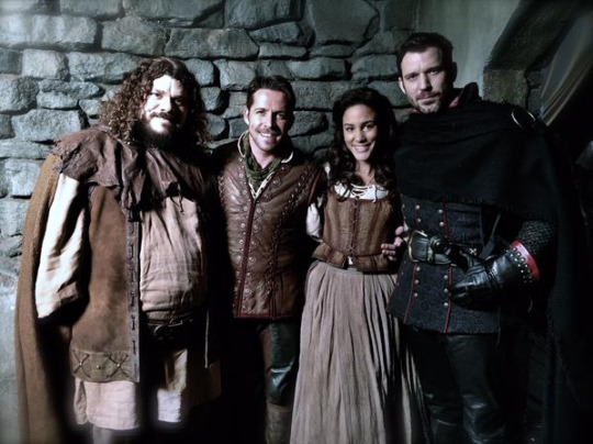 Sean Maguire and Christie Laing
