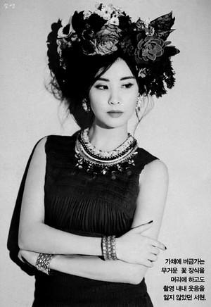 Seohyun W Magazine