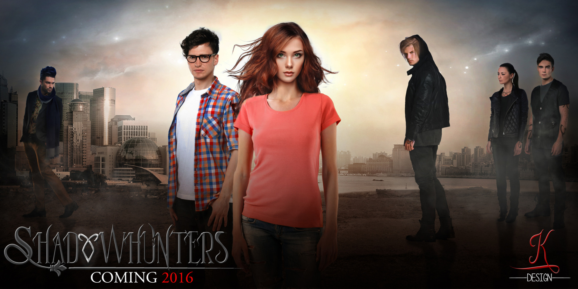 Shadowhunters ~ TV mostra FanMade Poster