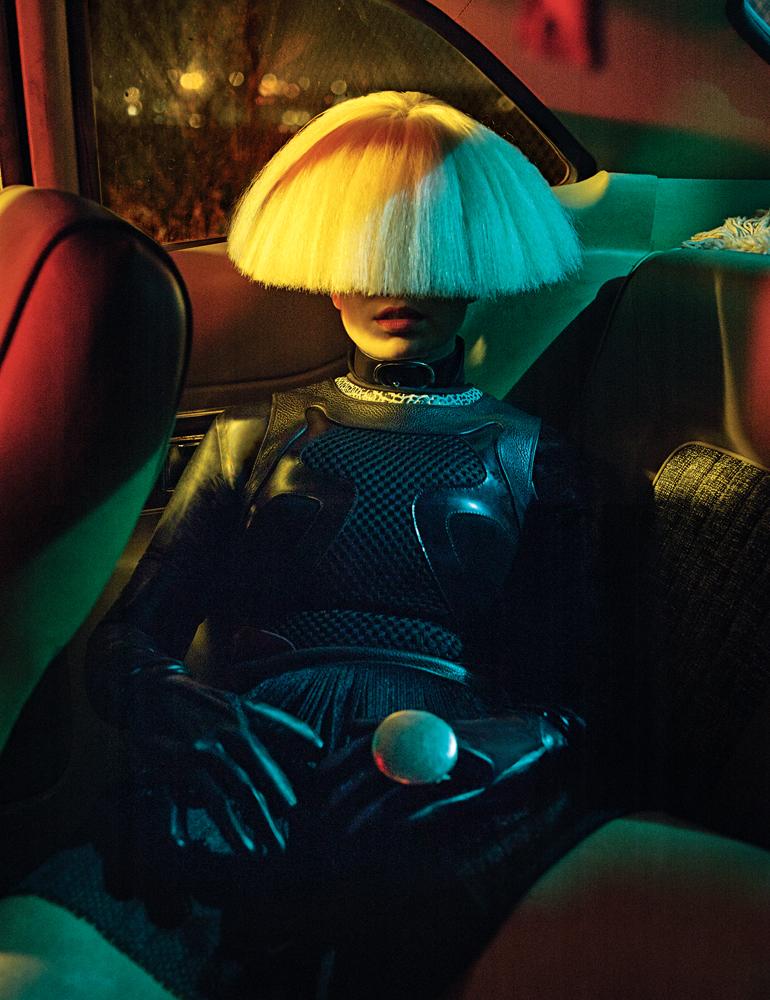 Sia for Interview magazine
