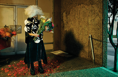 Sia fond d'écran entitled Sia for Interview magazine