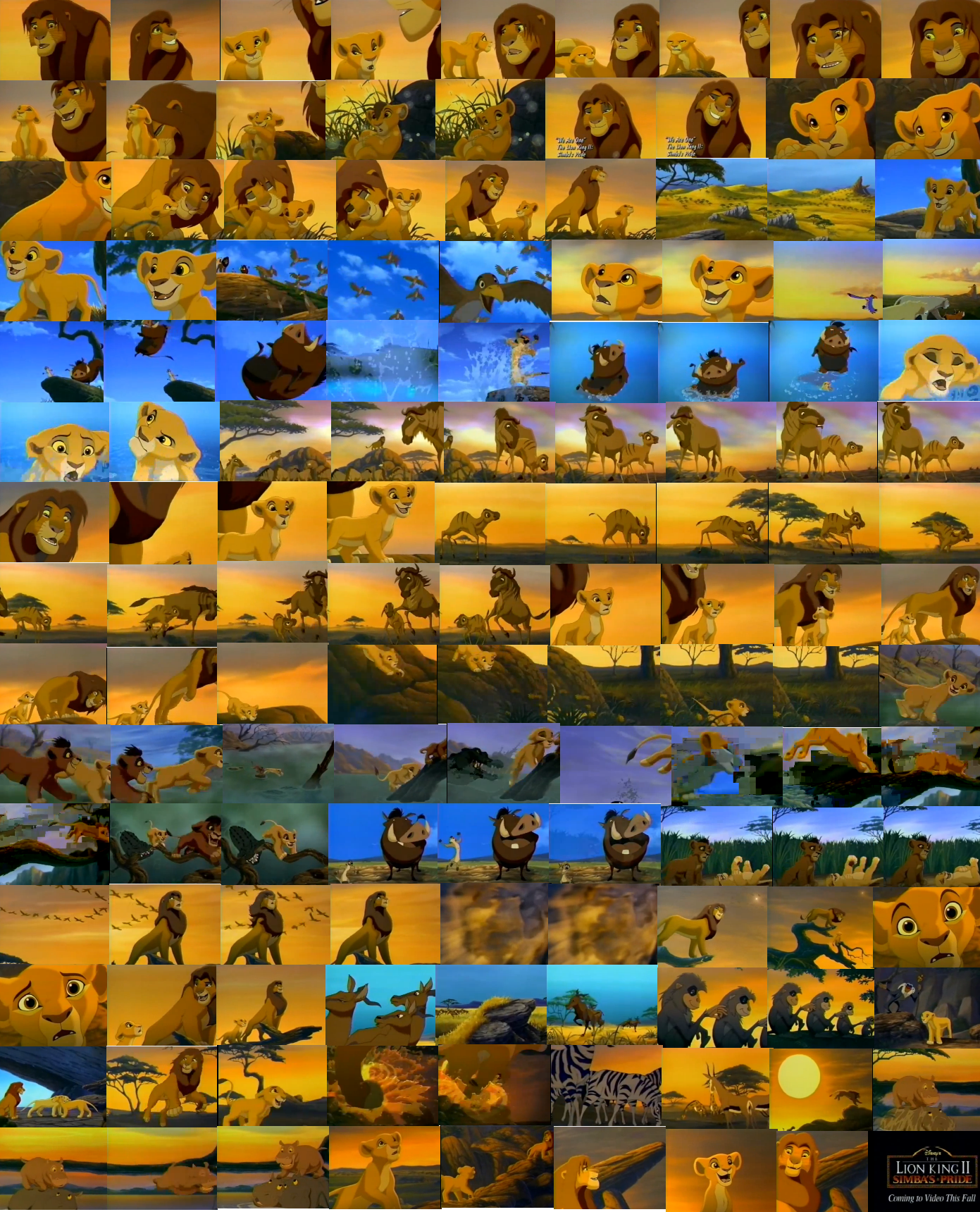 Simba's Pride May 10th preview collage