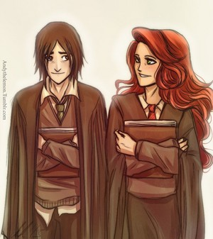 Snape and Lily~