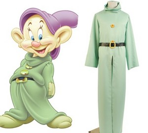 Snow White and the Seven Dwarfs Dwarf Cosplay Costume
