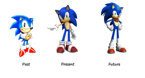 sonic the hedgehog wallpaper entitled Sonic the Hedgehog - Past, Present and Future