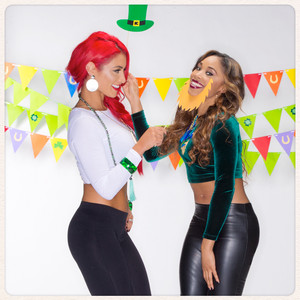 St. Patrick's Day 2015 - Eva Marie and Cameron