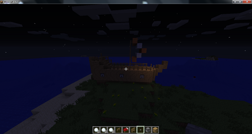 Stampylongnose Hintergrund called Stampys Ship