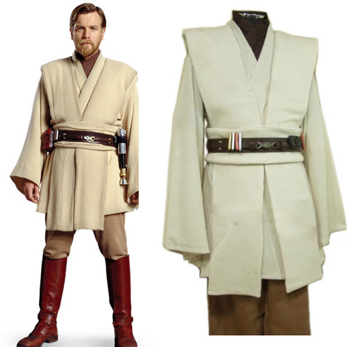 Star Wars wallpaper entitled Star Wars Obi-Wan Kenobi Jedi TUNIC Cosplay Costume