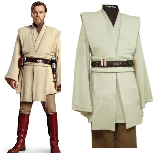 ster Wars Obi-Wan Kenobi Jedi TUNIC Cosplay Costume