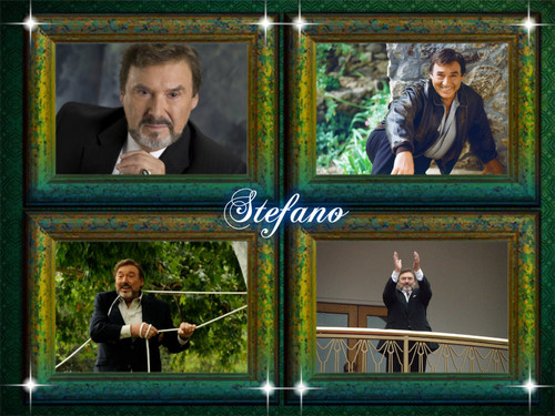 Days of Our Lives wallpaper probably containing a stained glass window entitled Stefano Dimera