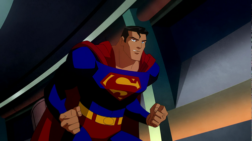 Superman Hintergrund probably with a totem pole entitled Superman - Crisis on Two Earths