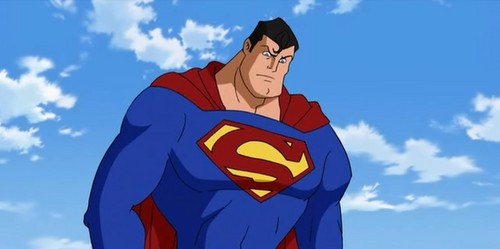 Superman Hintergrund titled Superman - The Elite