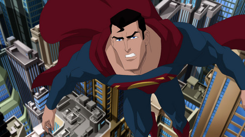 Superman Hintergrund possibly containing Anime titled Superman - Unbound