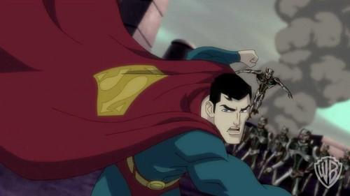 Superman Hintergrund containing Anime titled Superman - Unbound