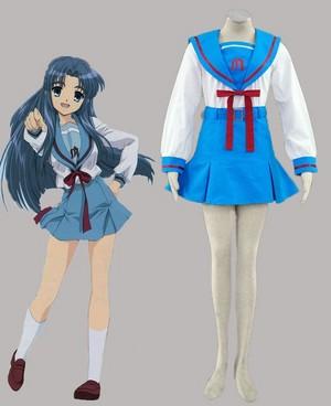 Suzumiya haruhi no yuutsu North High School Female winter uniforms