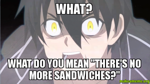 THE SANDWICHES !!!!!!!!!!!!!