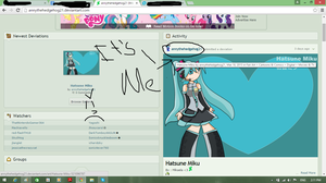 THIS IS MY DEVIANTART I HAVE BEEN IN 4 mois >:P