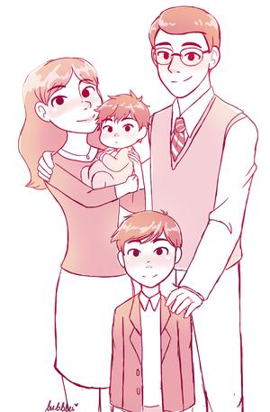 Tadashi, Hiro and their Parents
