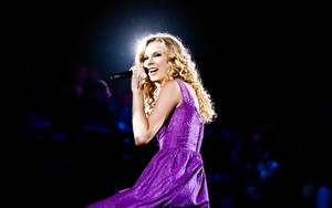 Tay in purple
