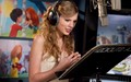 Tay rehersing - taylor-swift wallpaper