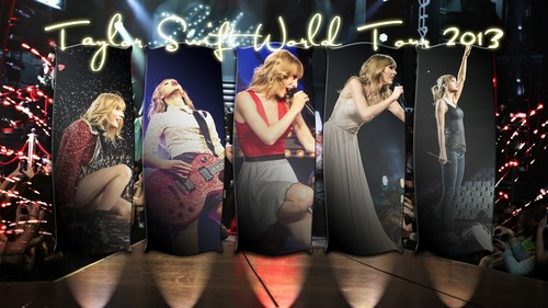 টেইলর সুইফট্ দেওয়ালপত্র called Taylor 2013 tour