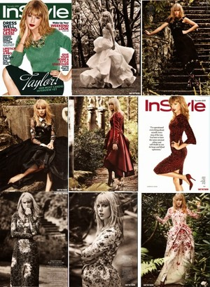 Taylor magazine collage