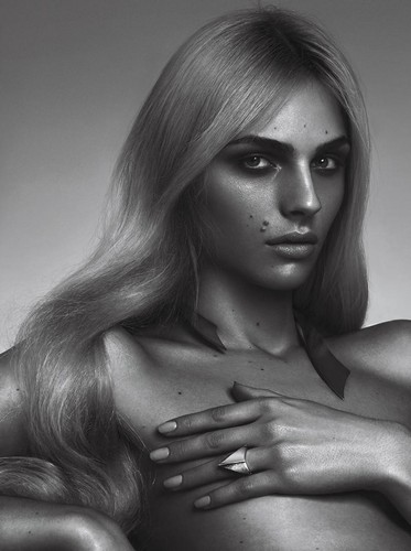 andrej pejic 바탕화면 possibly with skin and a portrait titled Teen Vogue: Andrej Pejic x Sam Snyder Collaboration